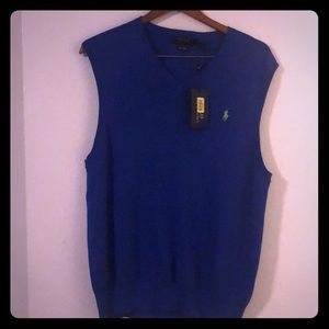 Mens Ralph Lauren polo vest